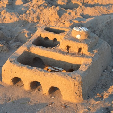 Small Sandcastle